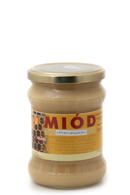 Miód lipowo - spadziowy 0,930 kg sklep www.medbio.pl